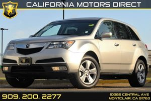 2011 Acura MDX TechEntertainment Pkg Carfax 1-Owner - No Accidents  Damage Reported to CARFAX