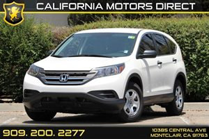 2013 Honda CR-V LX Carfax 1-Owner 8 Cup Holders Air Conditioning  AC Drivetrain  Front Whe