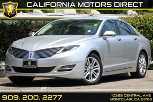 2014 Lincoln MKZ Hybrid Carfax 1-Owner  Ingot Silver Metallic  Department of Motor Vehicle G