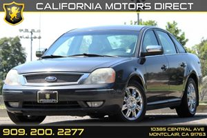 2007 Ford Five Hundred Limited Carfax Report Air Conditioning  AC Audio  AmFm Stereo Chrome