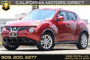 2012 Nissan JUKE SV Carfax 1-Owner 6040 Split Rear-Bench Seat -Inc Fold-Flat Load Floor Audio