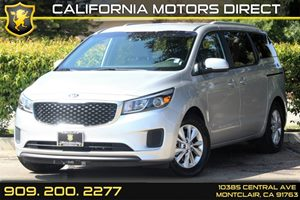 2015 Kia Sedona LX Carfax 1-Owner 4-Way Passenger Seat -Inc Manual Recline And ForeAft Movement