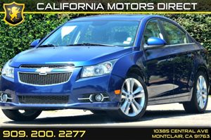 2013 Chevrolet Cruze LTZ Carfax Report  Atlantis Blue Metallic 16314 Per Month - On Approved