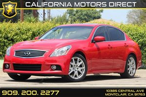 2013 Infiniti G37 Sedan Sport Carfax 1-Owner 8-Way Pwr Front Passenger Seat Displacement  37L