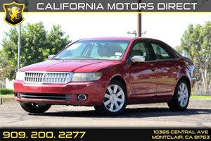 2007 Lincoln MKZ  Carfax Report Audio  AmFm Stereo Audio  Auxiliary Audio Input Audio  Cd P