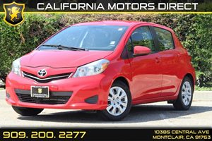 2014 Toyota Yaris L Carfax Report - No Accidents  Damage Reported to CARFAX  Absolutely Red -