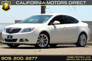 2013 Buick Verano  Carfax 1-Owner  Summit White 18347 Per Month - On Approved Credit----