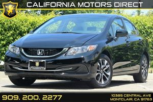 2015 Honda Civic Sedan EX Carfax 1-Owner 5 Person Seating Capacity 6-Way Driver Seat -Inc Manua