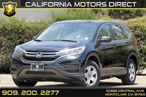 2015 Honda CR-V LX Carfax 1-Owner - No Accidents  Damage Reported to CARFAX  Crystal Black Pea