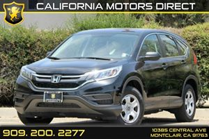 2015 Honda CR-V LX Carfax 1-Owner - No Accidents  Damage Reported to CARFAX Air Conditioning  A