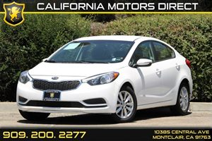 2014 Kia Forte LX Carfax Report 5 Person Seating Capacity Audio  AmFm Stereo Audio  Auxiliar