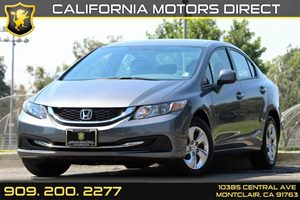 2013 Honda Civic Sdn LX Carfax 1-Owner - No Accidents  Damage Reported to CARFAX Audio  AmFm S