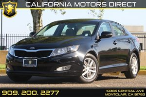 2013 Kia Optima LX Carfax 1-Owner 2 Aux Pwr Outlets Artificial Leather Door Upper Trim Clean