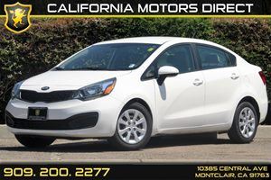 2013 Kia Rio LX Carfax 1-Owner - No Accidents  Damage Reported to CARFAX 2 12V Front Pwr Outle