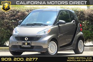2013 Smart fortwo Pure Carfax 1-Owner 12V Pwr Outlet WCover Drivetrain  Rear Wheel Drive Engi