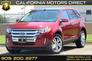 2013 Ford Edge Limited Carfax 1-Owner 4 12V Aux Pwr Outlets Air Conditioning  AC Audio  Am