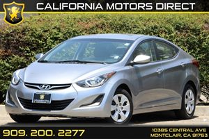 2016 Hyundai Elantra SE Carfax 1-Owner - No Accidents  Damage Reported to CARFAX Air Conditionin