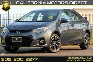 2015 Toyota Corolla S Carfax 1-Owner - No Accidents  Damage Reported to CARFAX 5 Person Seating