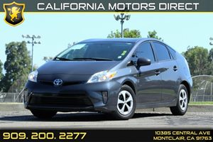 2013 Toyota Prius Two Carfax 1-Owner Adjustable FrontRear Headrests -Inc Fold-Forward Rear Head