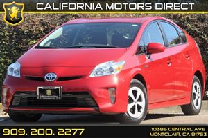 2013 Toyota Prius Three Carfax 1-Owner - No Accidents  Damage Reported to CARFAX Convenience  B