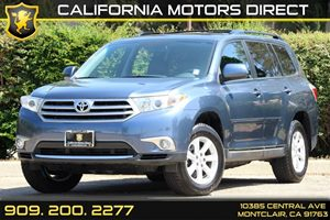 2013 Toyota Highlander  Carfax 1-Owner  Nautical Blue Metallic      --307 Per Month - On Ap