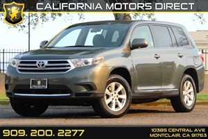 2013 Toyota Highlander Plus Carfax 1-Owner Air Conditioning  AC Audio  AmFm Stereo Audio