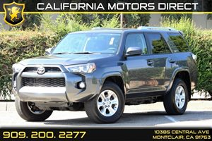 2015 Toyota 4Runner  Carfax 1-Owner Air Conditioning  AC Audio  AmFm Stereo Audio  Cd Play