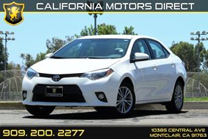 2014 Toyota Corolla LE Plus Carfax 1-Owner 5 Person Seating Capacity Air Conditioning  AC Aud