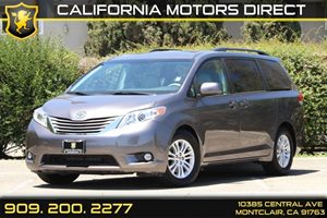 2014 Toyota Sienna XLE Carfax 1-Owner - No Accidents  Damage Reported to CARFAX Air Conditioning