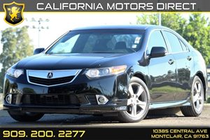 2012 Acura TSX Special Edition Carfax Report 17 Alloy Wheels WExclusive Color Air Conditionin