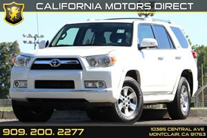 2012 Toyota 4Runner SR5 Carfax 1-Owner Aerodynamic Multi-Reflector Auto-Off Halogen Headlamps Au