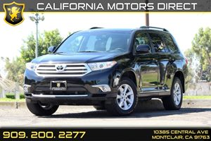 2013 Toyota Highlander Plus Carfax Report Air Conditioning  AC Air Conditioning  Rear AC Au