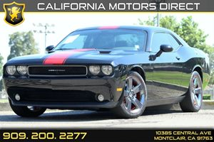 2013 Dodge Challenger Rallye Redline Carfax Report - No AccidentsDamage Reported Air Conditionin