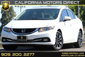 2015 Honda Civic Sedan EX Carfax Report - No AccidentsDamage Reported 60-40 Folding Bench Front