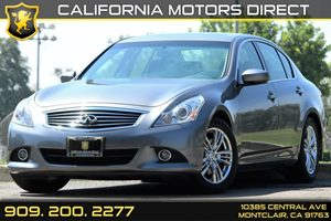2013 Infiniti G37 Sedan Journey Carfax Report Audio  AmFm Stereo Audio  Auxiliary Audio Input
