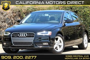 2013 Audi A4 Premium Carfax Report - No AccidentsDamage Reported 3-Blink Touch-To-Pass Turn Sign