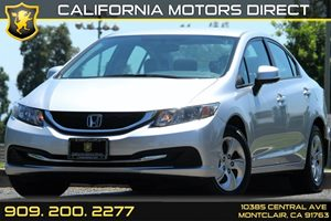 2013 Honda Civic Sdn LX Carfax Report - No AccidentsDamage Reported Air Conditioning  AC Audi