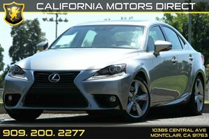 2014 Lexus IS 350  Carfax 1-Owner - No AccidentsDamage Reported Air Conditioning  AC Audio