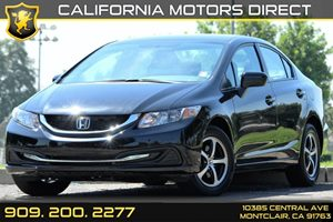 2015 Honda Civic Sedan SE Carfax Report Air Conditioning  AC Audio  AmFm Stereo Audio  Aux