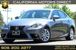 2014 Lexus IS 250  Carfax Report - No AccidentsDamage Reported Air Conditioning  AC Audio  A