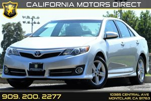 2014 Toyota Camry SE Carfax 1-Owner - No AccidentsDamage Reported Air Conditioning  AC Audio