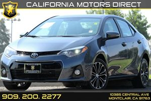 2015 Toyota Corolla S Plus Carfax Report Air Conditioning  AC Audio  AmFm Stereo Audio  Au
