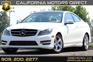 2014 MERCEDES C250 Coupe Carfax 1-Owner - No AccidentsDamage Reported 60-40 Folding Split-Bench