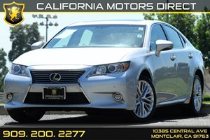 2014 Lexus ES 350  Carfax 1-Owner 10-Way Power Adjustable Front Seats -Inc Power ForeAft Slide