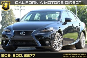 2014 Lexus IS 250  Carfax 1-Owner - No AccidentsDamage Reported Air Conditioning  AC Audio