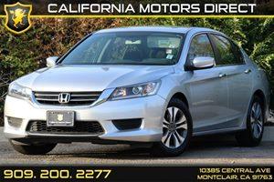 2013 Honda Accord Sedan LX Carfax Report - No AccidentsDamage Reported 8 Multi-Info Display -I