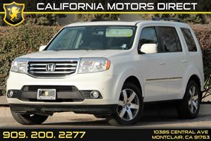 2013 Honda Pilot Touring Carfax Report  White Diamond Pearl 46878 Per Month - On Approved Cr