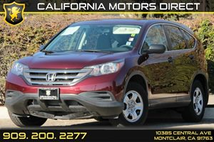 2013 Honda CR-V LX Carfax 1-Owner 2-Speed Intermittent Windshield Wipers Audio  AmFm Stereo A