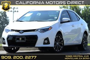 2016 Toyota Corolla S Plus Carfax Report - No AccidentsDamage Reported Air Conditioning  AC A