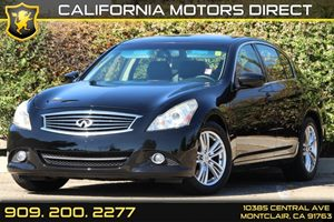 2012 Infiniti G37 Sedan Journey Carfax Report - No AccidentsDamage Reported Air Conditioning  A
